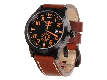 Εικόνα της Flieger Watch brown Leather