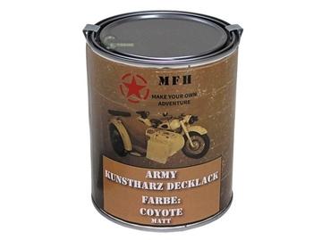 Εικόνα της Coyote Ματ Βαφή Συνθετικής Ρητίνης Army Varnish 1L