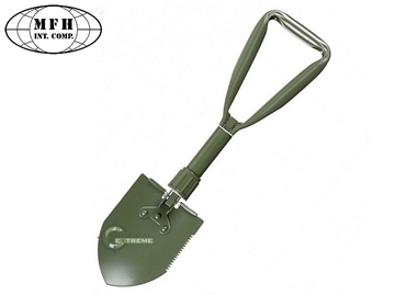 Εικόνα της Mini Πτυσσόμενο Φτυάρι Σκαπάνη Shovel Folding Spade Λαδί