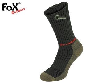 Εικόνα της Κάλτσες Πεζοπορίας Lusen Trekking Socks Λαδί