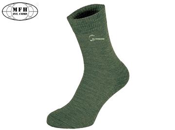Εικόνα της Κάλτσες Merino Socks Χακί