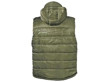 Εικόνα της Αμάνικο Μπουφάν Vest Detachable Hood Λαδί