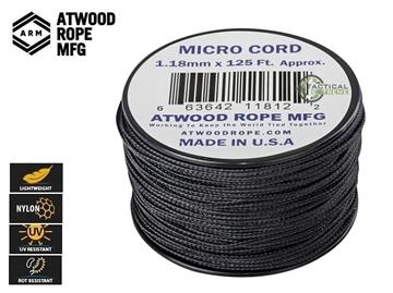Εικόνα της Νήμα Micro Cord 37.5m Μαύρο
