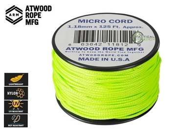Εικόνα της Νήμα Micro Cord 37.5m Neon Green