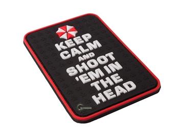 Εικόνα της Velcro Patch JTG - Keep Calm Umbrella Edition