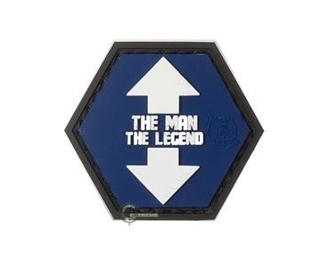 Εικόνα της Velcro Patch JTG - The Man, The Legend