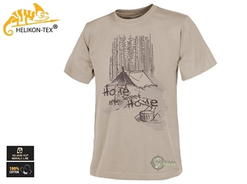 Εικόνα της Μπλουζάκι T-Shirt Home Sweet Home Μπεζ