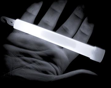 """Εικόνα της Άσπρο Χημικό Φως Lightstick 6"""""""