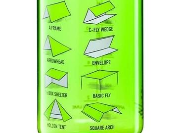 Εικόνα της Παγούρι Tarp Shelters Tritan Bottle 550 ml Green Black