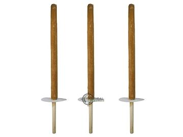 Εικόνα της Πυρσός Σετ 3 τεμ Wax Torches 55 cm