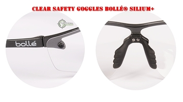 Εικόνα της Bollé Safety Clear Goggles Silium+