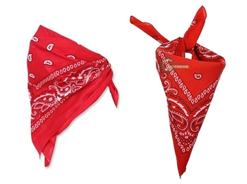 Εικόνα της Μπαντάνα Mil-Tec Bandana Western Κόκκινη