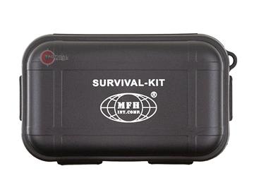 Εικόνα της MFH Small Survival Kit Small 22 Part Black
