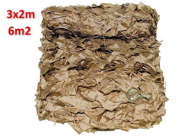 Picture of Δίχτυ Σκίασης & Καμουφλάζ Μπεζ Basic 3x2m