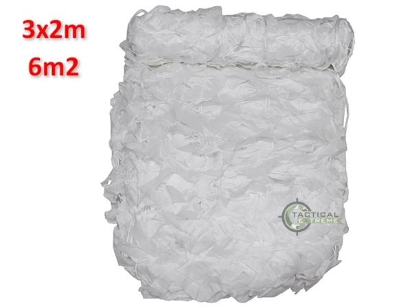 Picture of Δίχτυ Σκίασης & Καμουφλάζ Άσπρο Basic 3x2m
