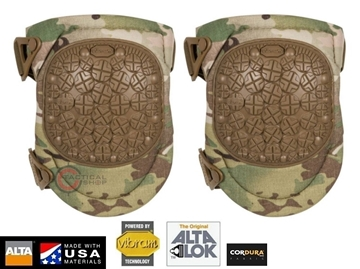 Εικόνα της Επιγονατίδες AltaFlex 360 Tactical Knee Pads Vibram Cap Multicam