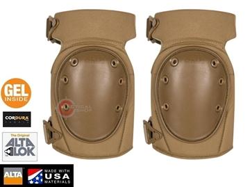 Εικόνα της Επιγονατίδες AltaContour LC Dual Altalok Tactical Knee Pads GEL Coyote