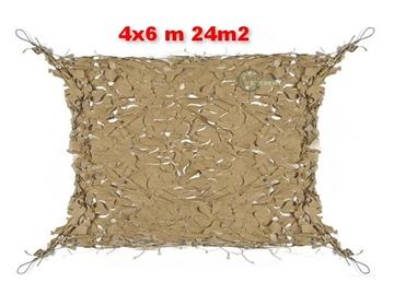 Εικόνα της Coyote Δίχτυα Σκίασης 4x6 m με αρτάνι και συρματόσκοινο περιμετρικά