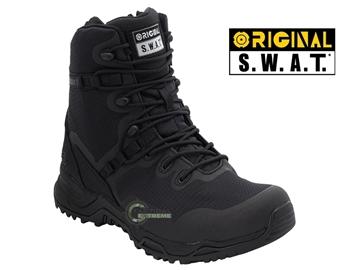 """Εικόνα της Άρβυλα Με Φερμουάρ Original Swat Alpha Fury 8"""" Side-Zip Combat Boots Μαύρα"""