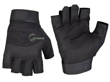 Εικόνα της Γάντια Κοφτά Army Fingerless Μαύρα