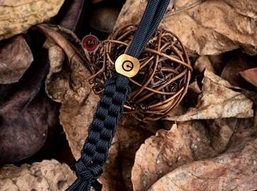 Εικόνα της Μπρελόκ Brass Bead Lanyard II Giveaway WE Knife
